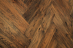 Custom Herringbone Wood Floors