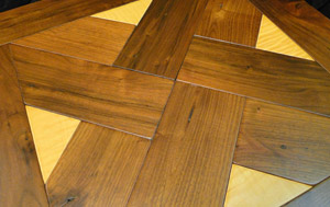 custom parquet wood floors
