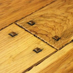 authentic hand scraped hickory hardwood flooring with wood pegs