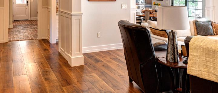 premium hardwood flooring by Rehmeyer - Pennsylvania street of dreams living room