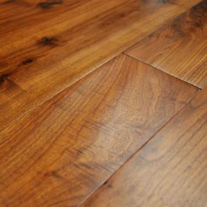 legacy walnut hand scraped foot worn hardwood flooring