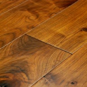 pioneer walnut hardwood flooring with microbevel