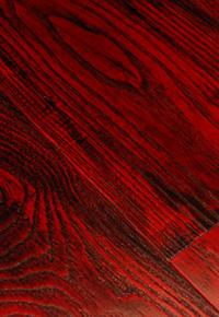 Rehmeyer Extreme Custom Flooring: Dramatic Red Ash
