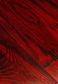 Rehmeyer Extreme Custom Flooring: Dramatic Red Ash