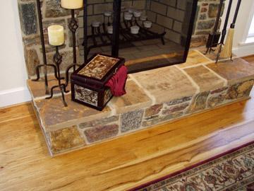 Pioneer Hickory flooring