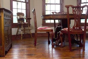 Antique Hand Scraped Cherry Floor