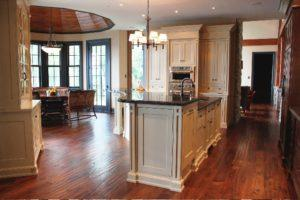 Hand Scraped Kitchen and Dining Areas