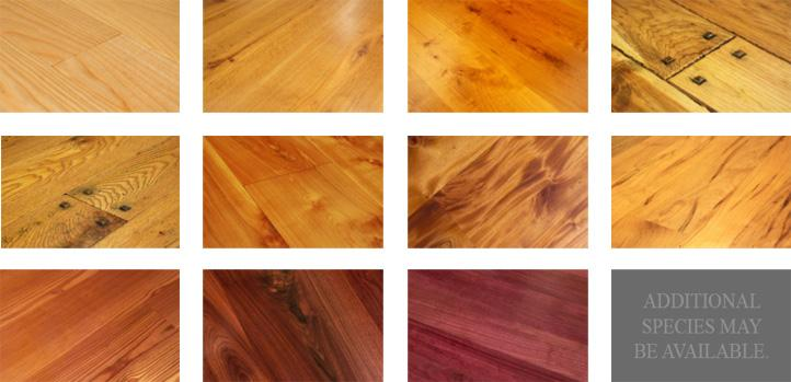 best wood species for my hardwood floor