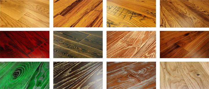 stain and accent colors to enhance woodgrain and distressing characteristics