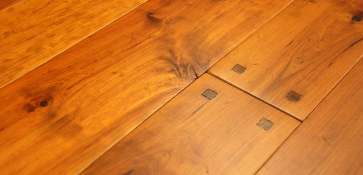 tung oil finish is available on custom hardwood flooring by Rehmeyer