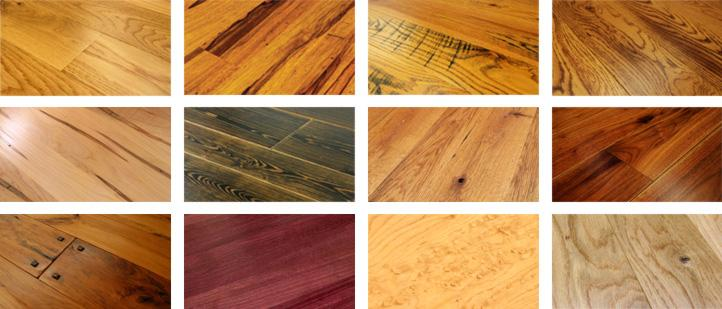 custom hardwood floor swatches