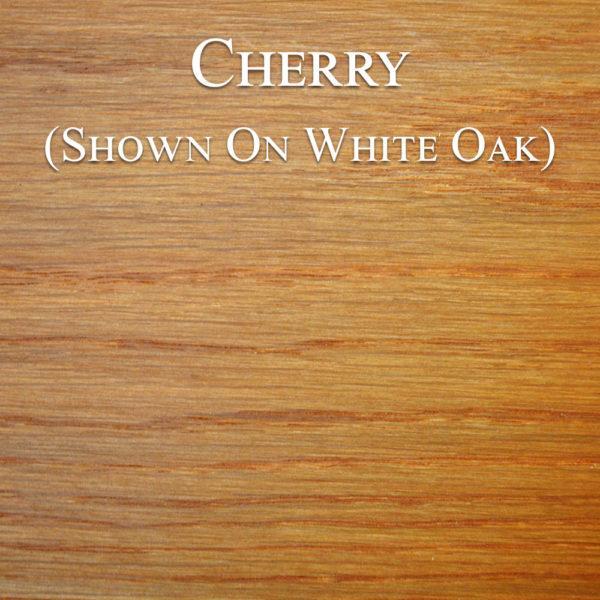 Cherry Hardwax Oil on White Oak