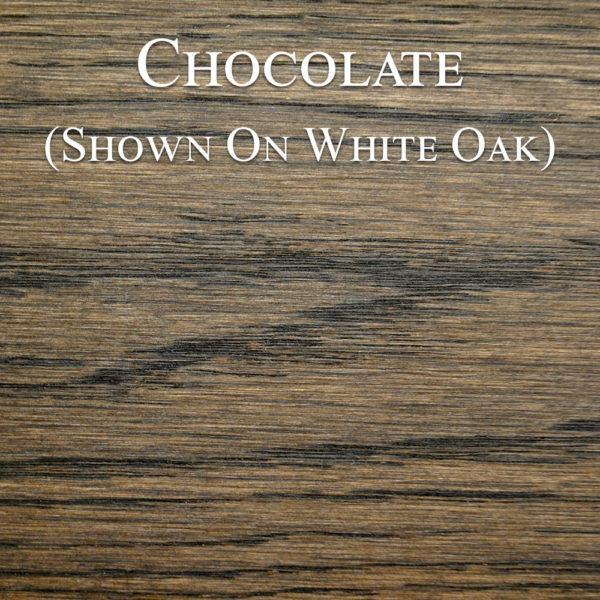 Chocolate Hardwax Oil on White Oak