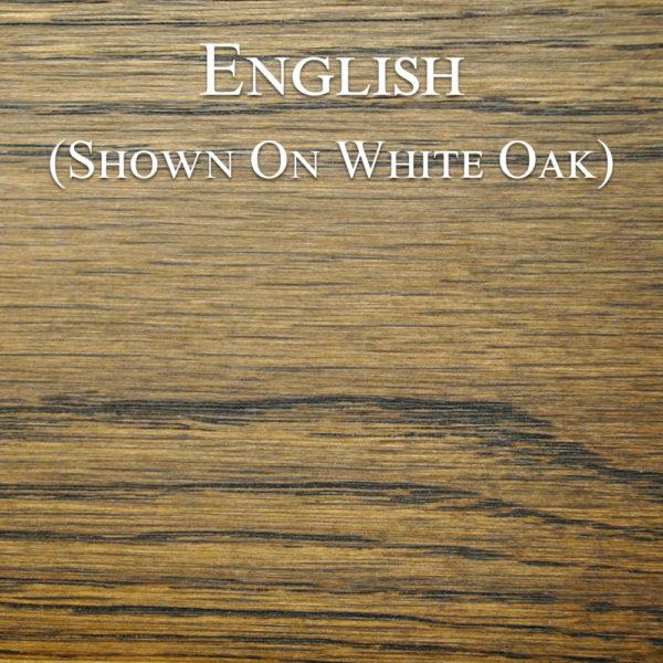 English Hardwax Oil on White Oak