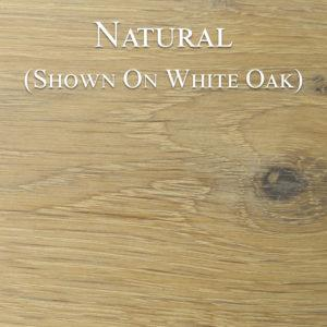 Natural Hardwax Oil on White Oak