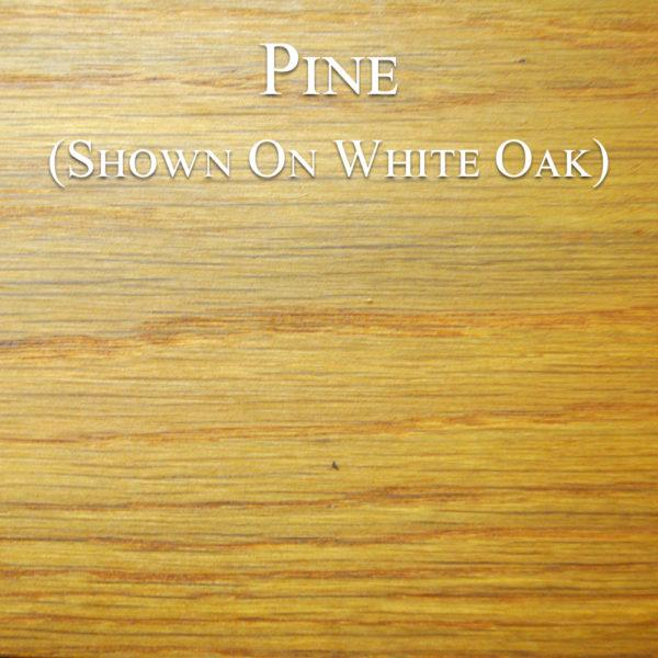Pine Hardwax Oil on White Oak