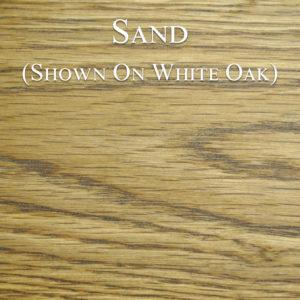 Sand Hardwax Oil on White Oak