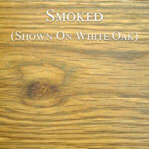 Smoked Hardwax Oil on White Oak