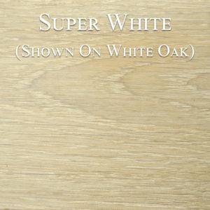 Super White Hardwax Oil on White Oak