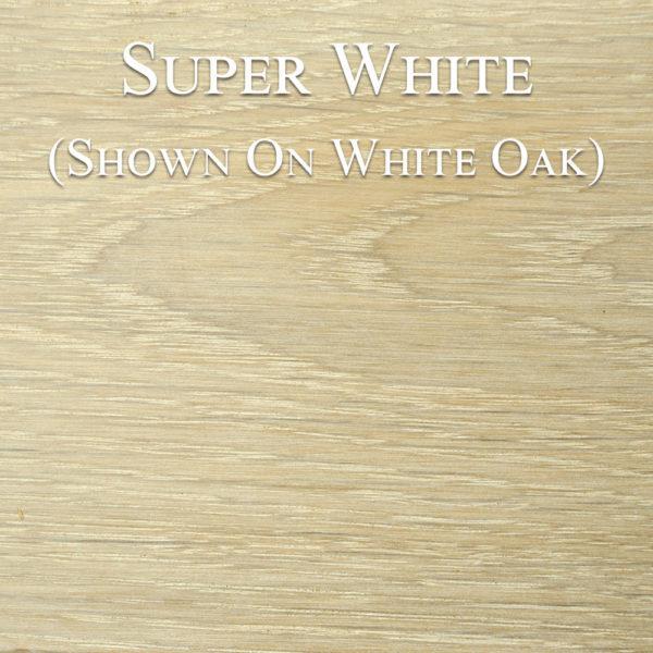 Super White Hardwax Oil on White Oak