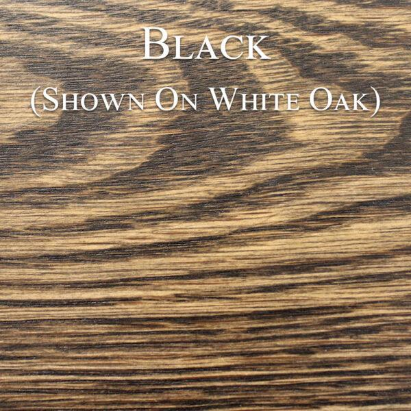 Black Hardwax Oil on White Oak